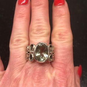 Gorgeous Green amethyst Ring